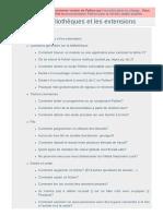 FAQ sur les bibliothèques et les extensions - Documentation Python 2.7.18