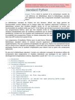 La bibliothèque standard Python - Documentation Python 2.7.18