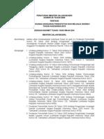 Permendagri No.25 Thn 2009 Pedoman Penyusunan APBD Tahun Anggaran 2010
