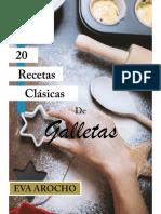 20 Recetas Clasicas de Galletas