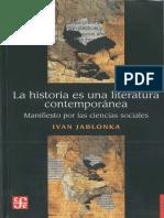 Jablonka Ivan - La Historia Es Una Literatura Contemporanea