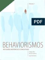 Behaviorismos, reflexões históricas e conceituais, volume I   Zilio & Carrara, 2016 [INDEX] (1).pdf