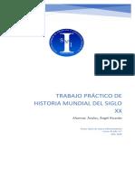Trabajo Practico Nº5- Historia Mundial SXX