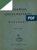 Anuar Bucuresti 1930