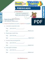 Núcleo-y-Modificadores-del-Predicado-para-Tercer-Grado-de-Primaria