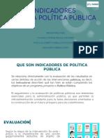 indicadores politica publica presentacion