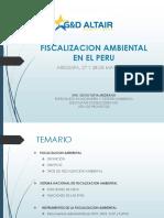 FISCALIZACIÓN AMBIENTAL EN EL PERÚ
