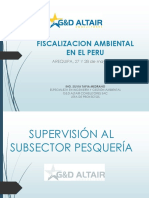 FISCALIZACIÓN AMBIENTAL EN EL PERÚ - PESCA