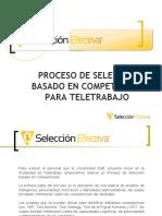 Informacion Evaluación por Competencias para Teletrabajo