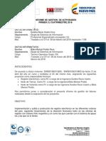 informe de gestion mayo 2018