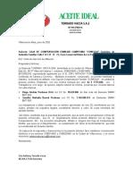 CARTA COMCAJA DE AFILIACION