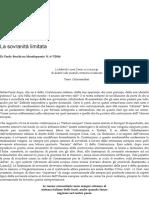 La sovranità limitata – Paolo Becchi