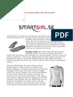 Online shopping för flickor från SmartGirl.se