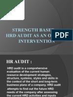 HR Audit as OD-intervention