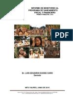 INFORME 1ER TRIMESTRE 2015 MONITOREO PSFF