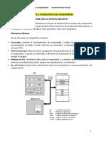 Sistemas Operativos - Introduccion a los computadores
