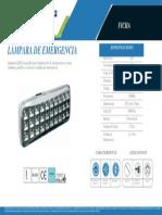 Lámpara de emergencia 30 LED EL9