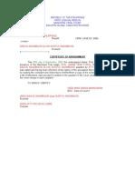 CertificateOfArraignment.doc