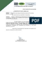 CRONOGRAMA DE ENTREGA DE ALIMENTOS Y ENTREGA DE CUADERNOS DE TRABAJO OFICIO-4