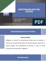 RESPONSABILIDAD DEL ESTADO PPT CLASE
