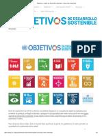 Objetivos y metas de desarrollo sostenible – Desarrollo Sostenible