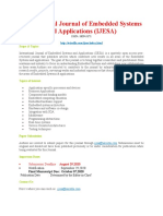 Call for Paper - International Journal of Embedded Systems and Applications IJESA