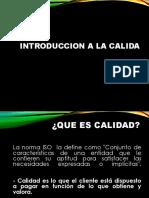 INTRODUCCION A LA CALIDAD - UAC