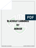 Blackhat Earning By Akimor