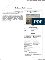 Bataille des Plaines d'Abraham