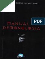 Manual de Demonologia - Carlos Augusto Vailatti