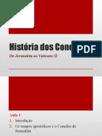 Hist dos Concilios