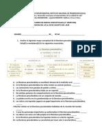 TALLERES DE MAPAS CONCEPTUALES DE LITERATURA Y CUESTIONARIO