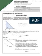 4 - Triángulo rectángulo con ejercicios