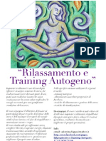 rilassamento e training autogeno