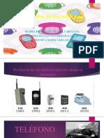 Evolución de los teléfonos