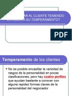 ClienteS-temperamento
