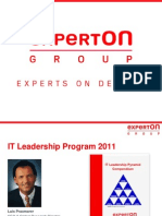 Experton - IT Leadership Program 2011 ME