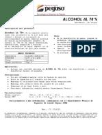TDS ALCOHOL AL 70%