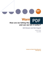 Warm Words. IPPR - Ereaut & Segnit (2006)