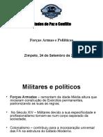 EPC - For‡as Armas e pol¡ticos