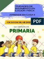 1° Primaria planeacion educacion fisica DAVID PASTRANA