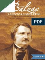 Cuentos completos de La Comedia Humana - Honore de Balzac
