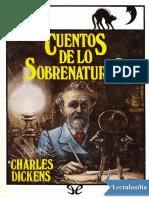 Cuentos de lo sobrenatural - Charles Dickens