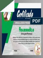 Certificado de adopcion ROUSSADITA