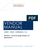 VM SECTION 6 TECHNICAL DESIGN SAMPLE & FIT REQUIREMENTS (1)