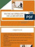 4 TECNICAS OPERATIVAS DE LA RECEPCIÓN (1).pptx