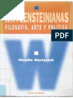 Martyniuk - Wittgenstein , Filosofia, Arte y Politica