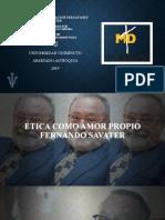 ETICA COMO AMOR PROPIO KMC