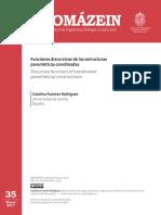 Fuentes Rodriguez_2017- Funciones discursivas estructuras parenteticas coordinadas