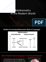 Module 2 MATHEMATICAL LANGUAGE AND SYMBOLS